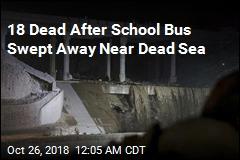 School Bus Swept Away in Flood Near Dead Sea