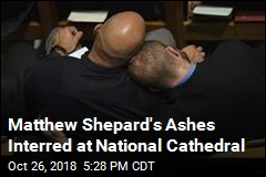 Matthew Shepard's Ashes Interred at National Cathedral