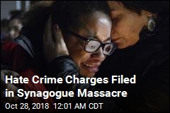 Hate Crime Charges Filed in Synagogue Massacre