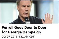 Will Ferrell Hits Abrams Campaign Trail in Georgia
