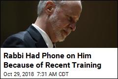 Rabbi Who Called 911 Had Phone Because of Training