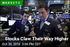 Stocks Claw Their Way Higher