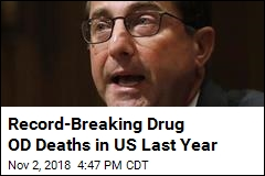 Record-Breaking Drug OD Deaths in US Last Year