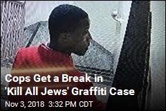 Alleged Arsonist Arrested for Scrawling 'Kill all Jews'