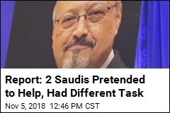 Report: 2 Saudis Pretended to Help, Had Different Task