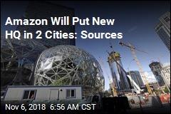 Report: Amazon Now Plans to Pick 2 'Co-Headquarters'