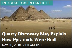 Key to How Pyramids Were Built: A Ramp?
