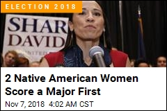 First 2 Native American Congresswomen Elected