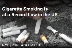 Cigarette Smoking Is at a Record Low in the US