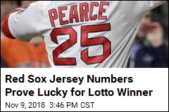 Red Sox Jersey Numbers Prove Lucky for Lotto Winner