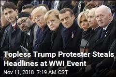 Macron Denounces 'Nationalism' at WWI Event