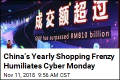 China's Yearly Shopping Frenzy Humiliates Cyber Monday