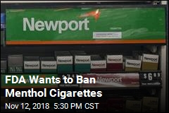 FDA Wants to Ban Menthol Cigarettes