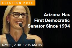 Democrat Wins Arizona Senate Race