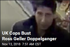 Schwimmer's in the Clear: Ross Geller Lookalike Nabbed