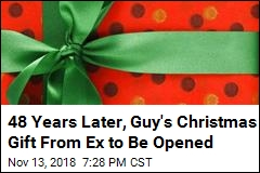 Mysterious Christmas Gift to Be Opened, 48 Years Later