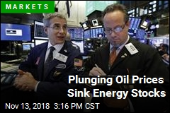 Plunging Oil Prices Sink Energy Stocks