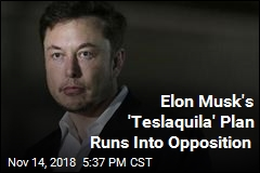 Elon Musk's 'Teslaquila' Plan Runs Into Opposition