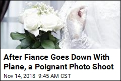 After Fiance Goes Down With Plane, a Poignant Photo Shoot