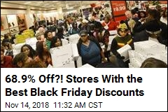 Here Are the 10 Stores Offering the Best Black Friday Discounts