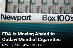 FDA Is Moving Ahead to Outlaw Menthol Cigarettes
