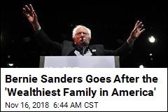 Bernie Sanders Rolls Out Stop Walmart Act