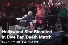 David Arquette Bloodied in 'Death Match'