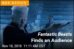 Fantastic Beasts Finds an Audience