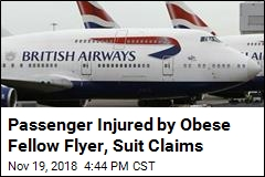 Passenger Injured by Obese Fellow Flyer, Suit Claims