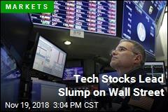 Tech Stocks Lead Slump on Wall Street