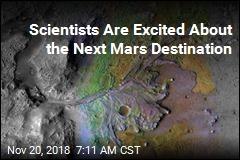 NASA Is Sending Rover to Ancient Mars Delta
