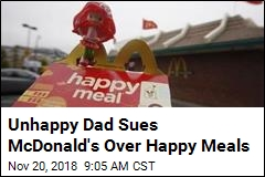 Dad's Mickey D's Suit: Stop Pushing Toys on My Kids