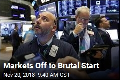 Markets Off to Brutal Start