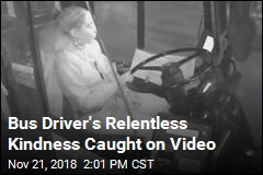 Bus Driver's Relentless Kindness Caught on Video