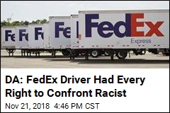 No Charges for FedEx Driver Over Fatal Punch