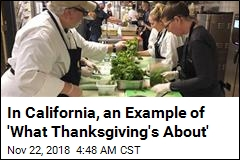 Community Steps Up to Help Wildfire Evacuees Have Thanksgiving