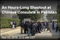 Gunmen Storm Chinese Consulate in Pakistan