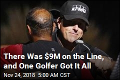 There Was $9M on the Line, and One Golfer Got It All