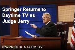 Springer Returns to Daytime TV as Judge Jerry