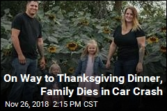 Family Went Missing on Thanksgiving, Was Found Dead in Crash