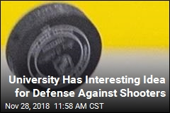 In Case of Active Shooter, Chuck This Hockey Puck