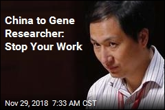 China Halts Scientist's Gene-Editing Work