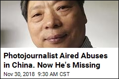 Photojournalist Covering Ills of China Is Missing