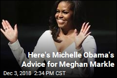 Here's Michelle Obama's Advice for Meghan Markle