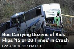 Third Grader Killed in Bus Crash That Injured 45