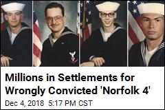 Wrongly Convicted 'Norfolk 4' Get $8.4M in Settlements
