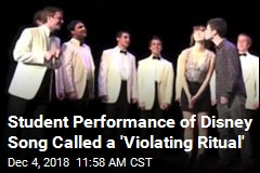 Student Performance of Disney Song Called a 'Violating Ritual'
