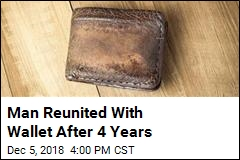Man Reunited With Wallet After 4 Years