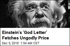 Einstein's Famous 'God Letter' Sells for $2.9M