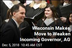 Wisconsin Legislature Votes to Weaken Incoming Governor, AG